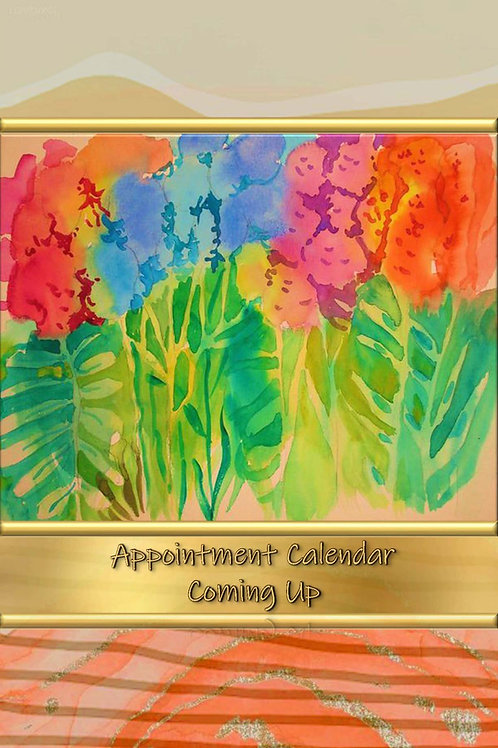 Appointment Calendar - Coming Up