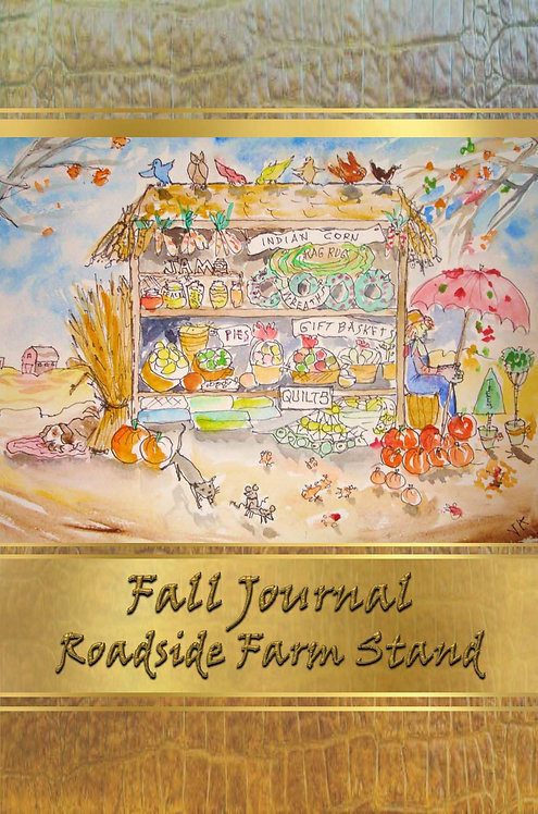Fall Journal - Roadside Farm Stand