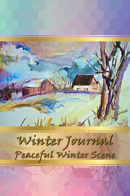 Winter Journal - Peaceful Winter Scene