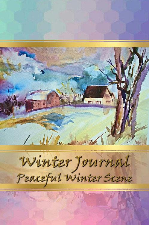 Winter Journal - Peaceful Winter Scene