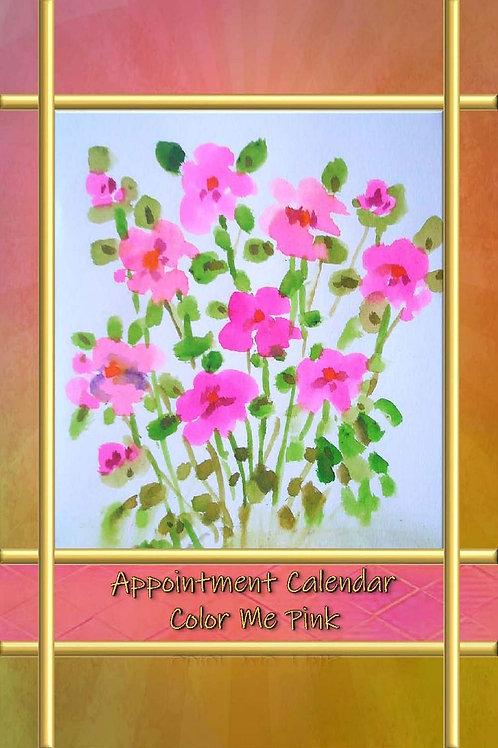 Appointment Calendar - Color Me Pink