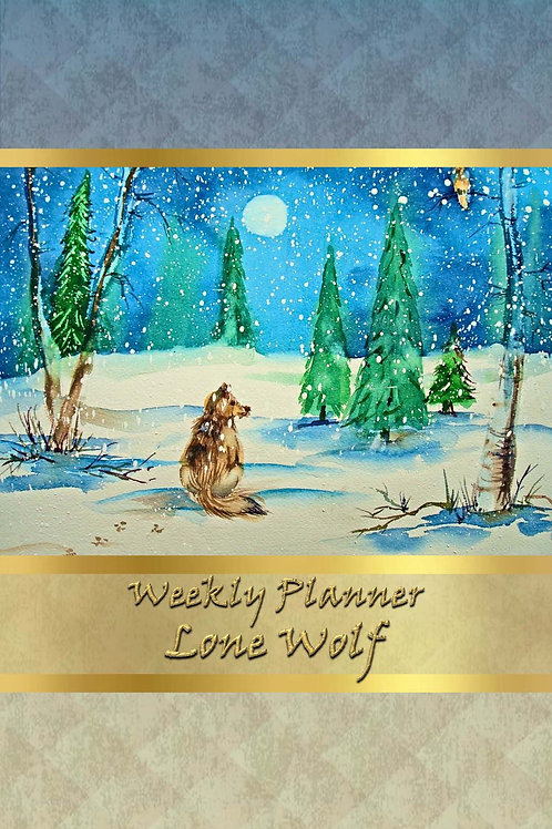 Weekly Planner - Lone Wolf