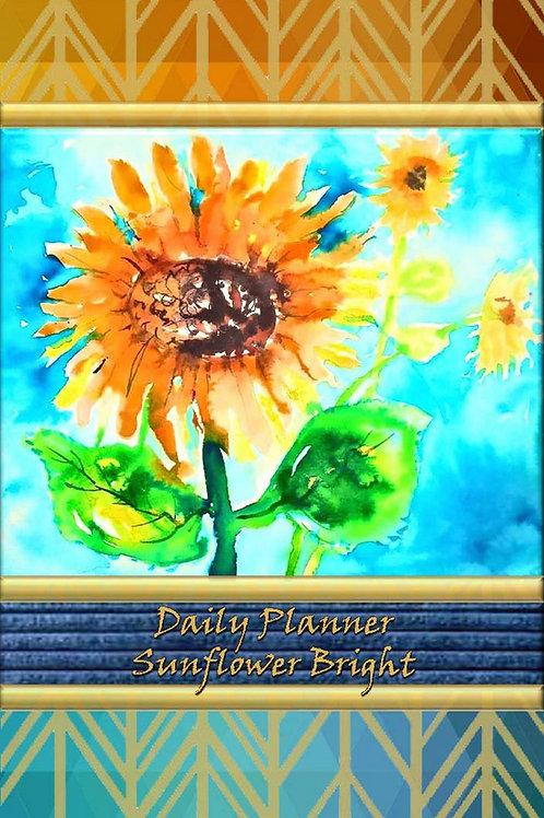 Daily Planner - Sunflower Bright
