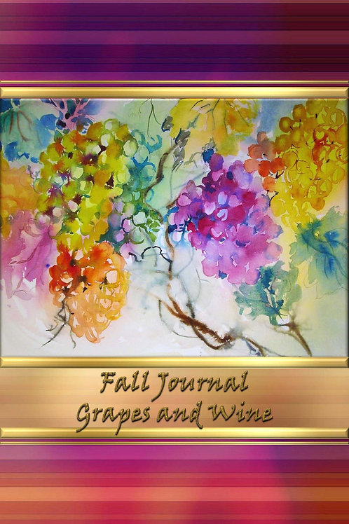 Fall Journal - Grapes and Wine