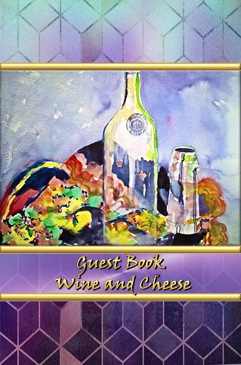 Guest Book - Wine and Cheese