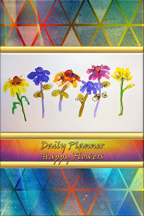 Daily Planner - Happy Flowers