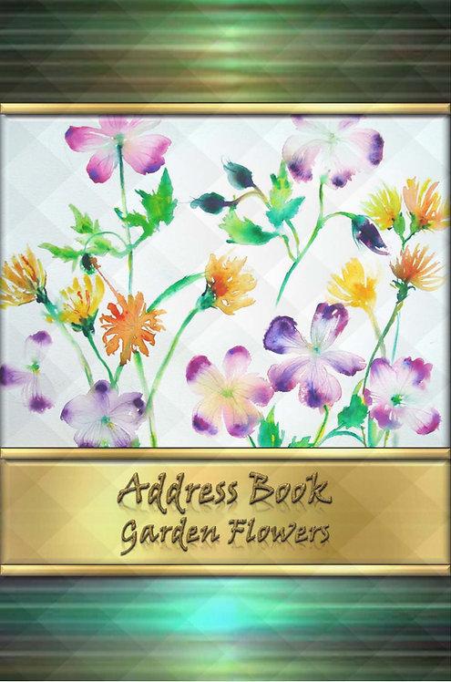 Address Book - Garden Flowers