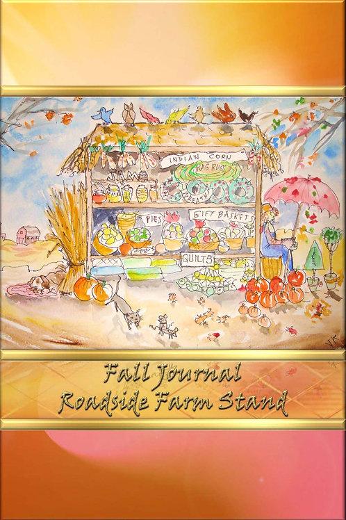 Fall Journal - Roadside Farm Stand