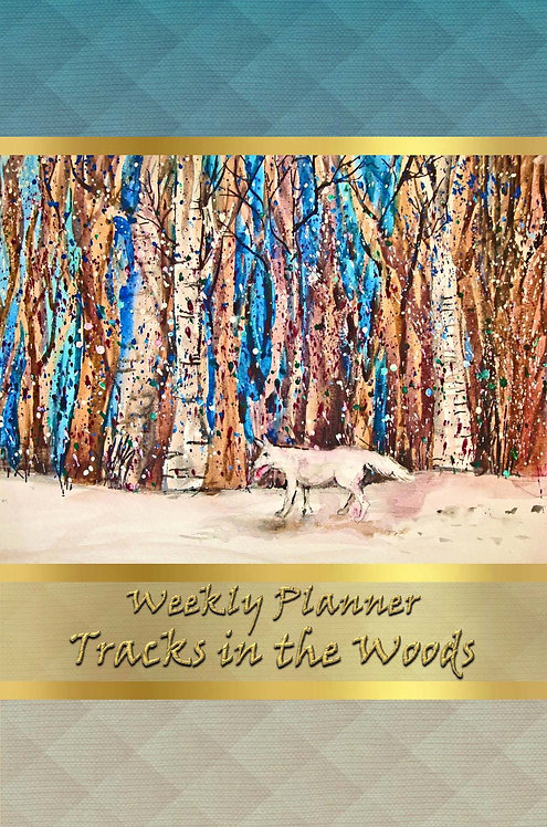 Weekly Planner - Tracks in the Woods