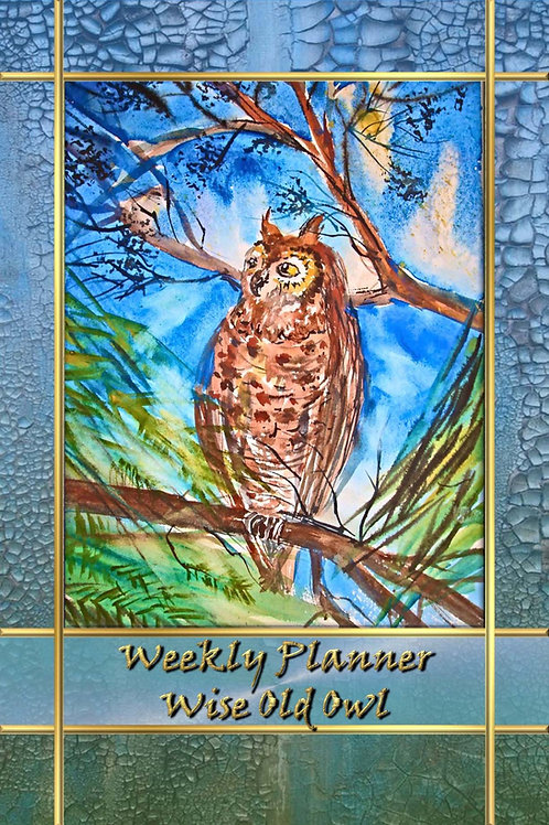 Weekly Planner - Wise Old Owl