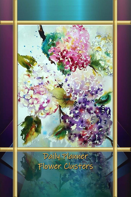 Daily Planner - Flower Clusters