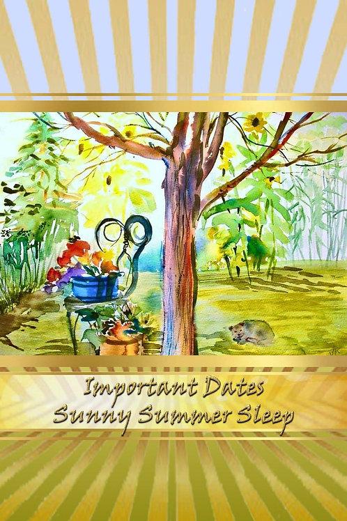 Important Dates - Sunny Summer Sleep