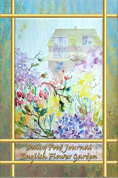 Daily Food Journal - English Flower Garden