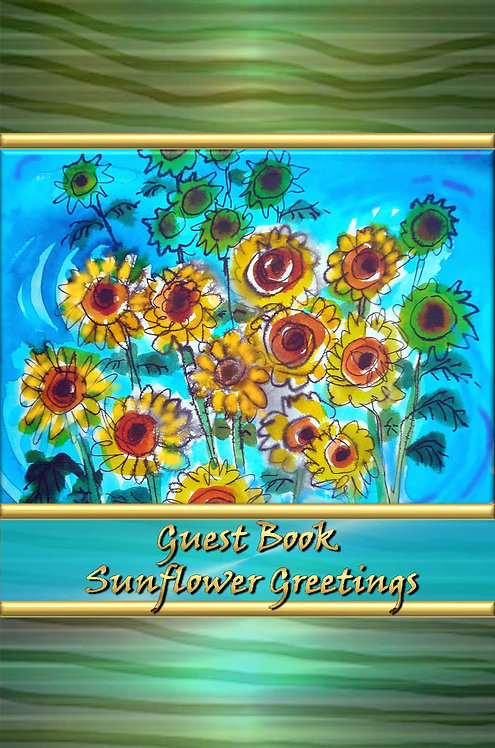Guest Book - Sunflower Greetings