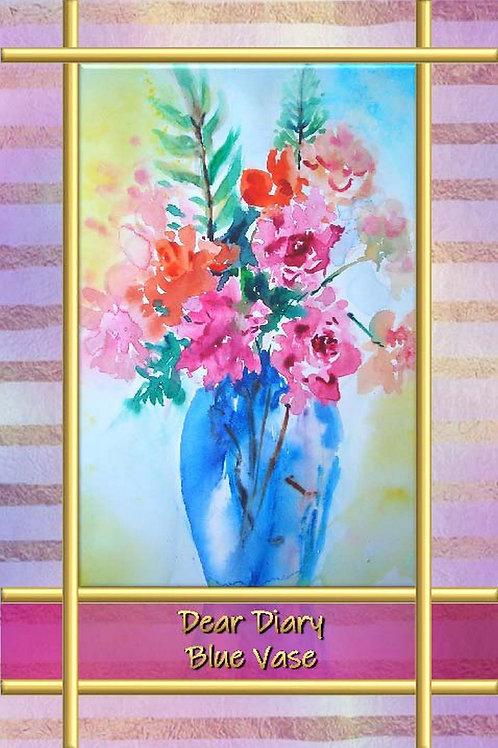 Dear Diary - Blue Vase