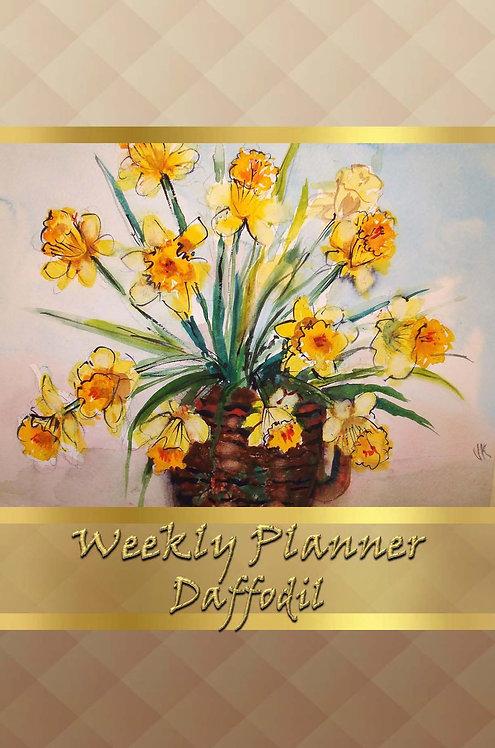 Weekly Planner - Daffodil