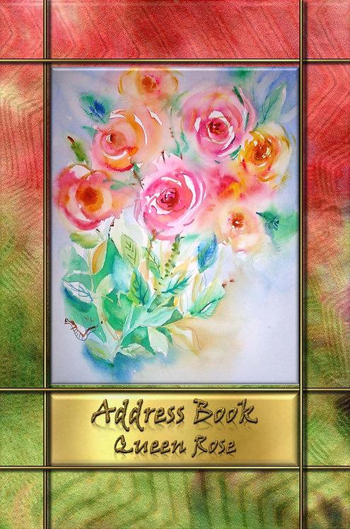 Address Book - Queen Rose