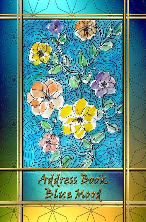 Address Book - Blue Mood