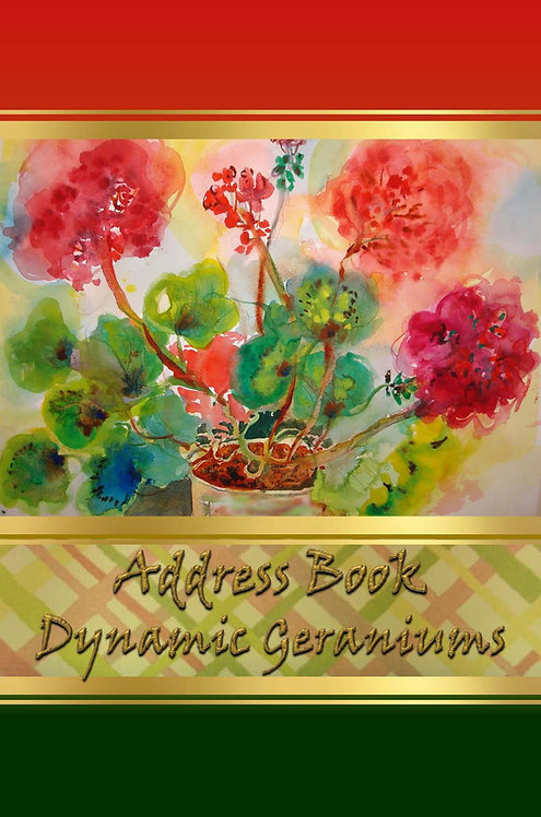 Address Book  - Dynamic Geraniums