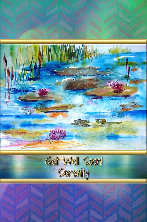 Get Well Soon! - Serenity - Hardcover