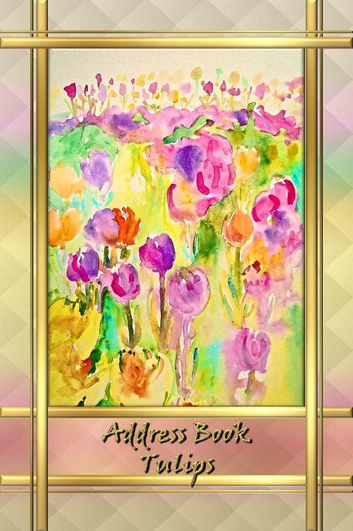 Address Book - Tulips