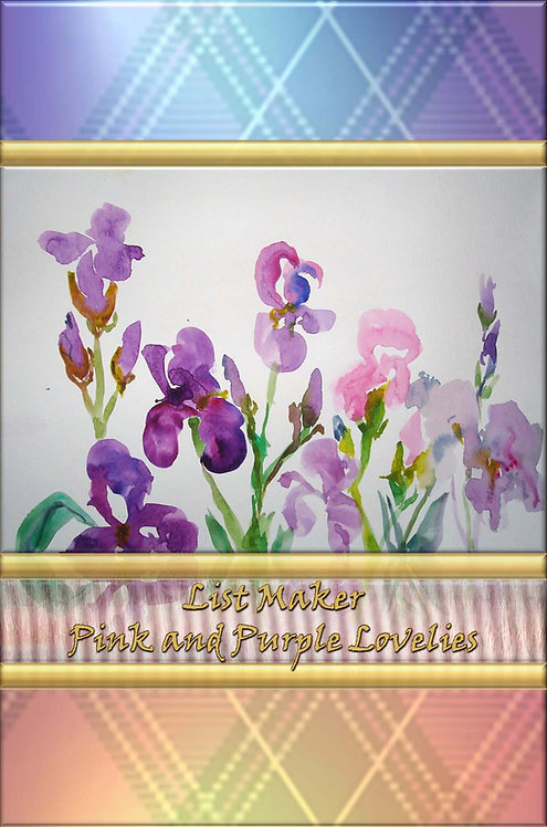 List Maker - Pink and Purple Lovelies