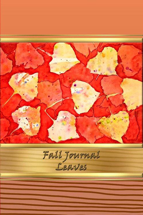 Fall Journal - Leaves