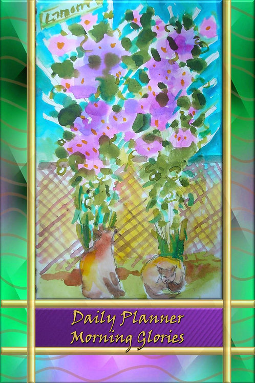 Daily Planner - Morning Glories