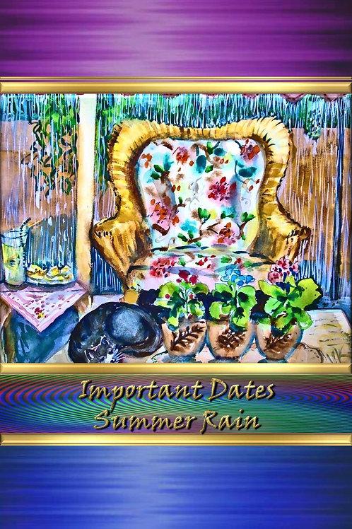 Important Dates - Summer Rain
