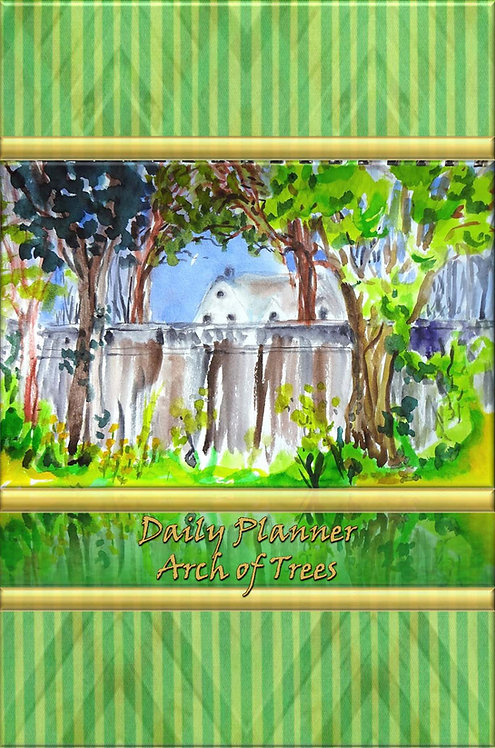 Daily Planner - Arch of Trees