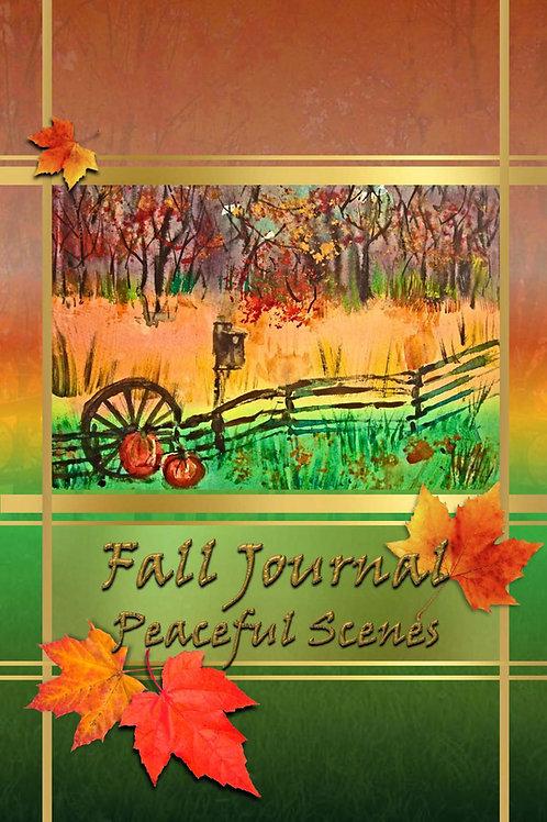 Fall Journal - Peaceful Scenes