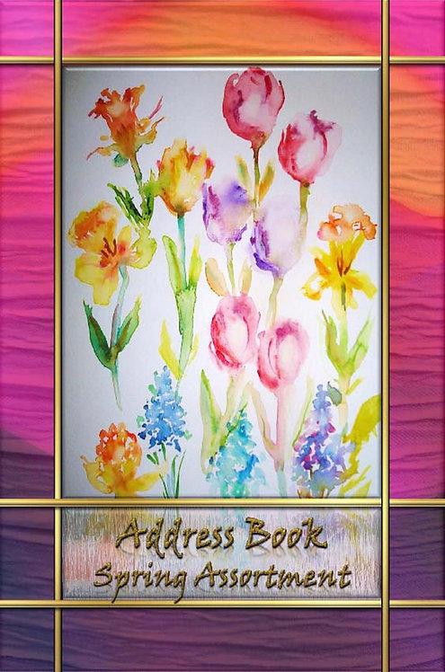 Address Book - Spring Assortment