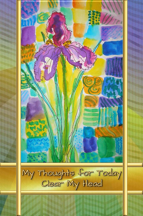 My Thoughts for Today - Clear My Head - Hardcover Edition