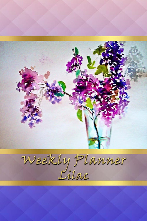 Weekly Planner - Lilac