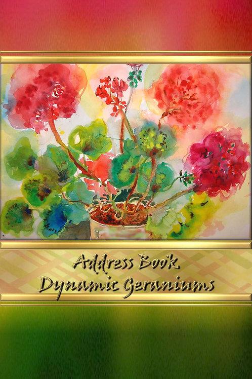 Address Book  - Dynamic Geraniums