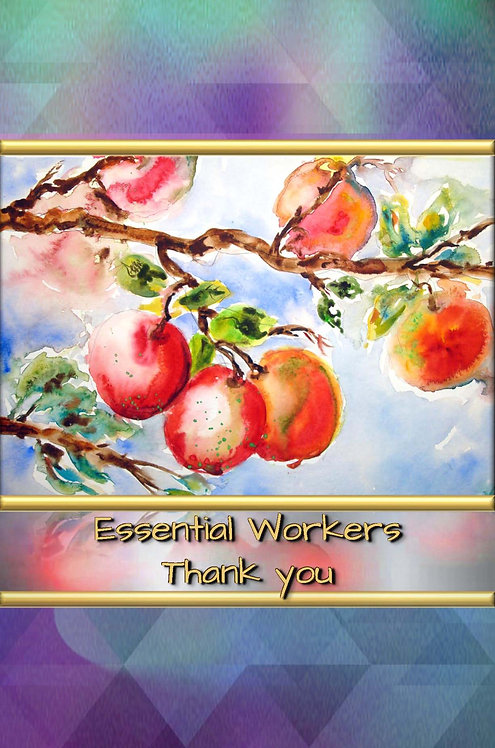 Essential Workers - Thank you - Hardcover