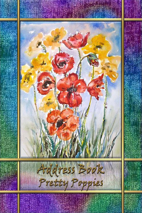 Address Book - Pretty Poppies