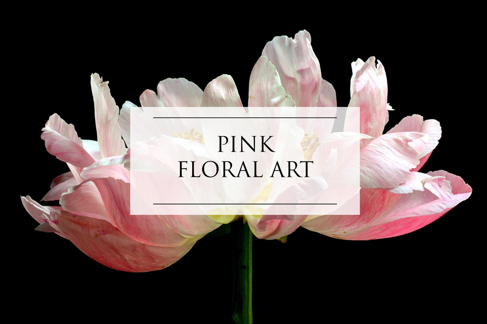 PINK FLORAL ART