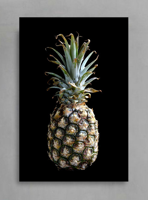 Pineapple Print ~ Food Photography ~ Kitchen Wall Art therandomimage.com
