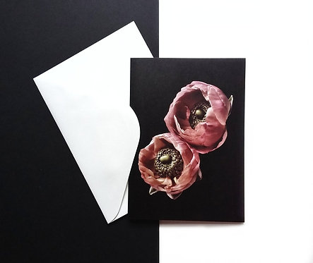 Floral Greeting Cards ~ Set Of 4 Blank Stationery ~ Flower Photography Giftcards therandomimage.com