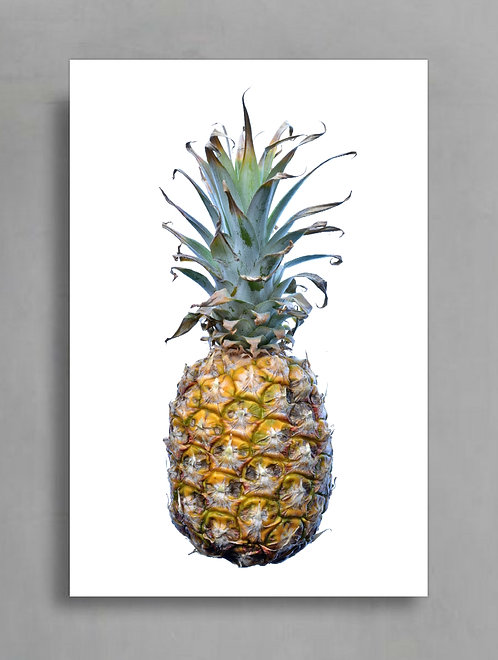 Pineapple on White ~ Printable Digital Download therandomimage.com