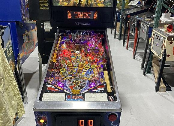 Buy Medieval Madness Pinball Machine at Orange County Pinballs