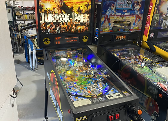 Jurassic Park by Data East