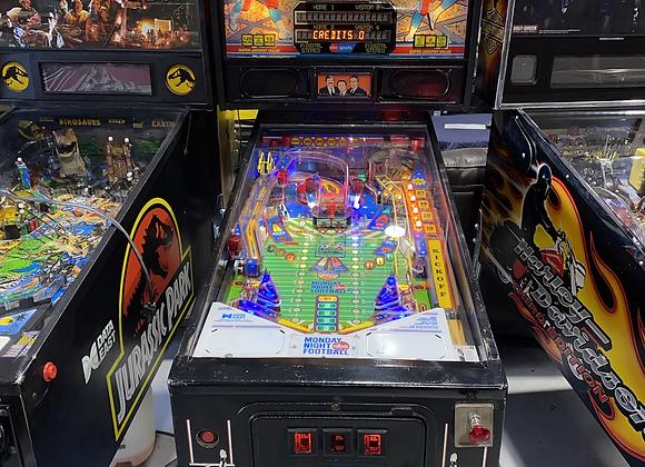 Monday Night Football ABC NFL Pinball Machine Data East Arcade Coin Operated