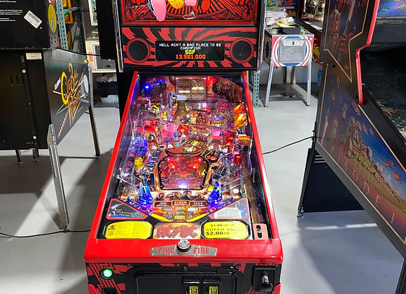 AC/DC Luci Rare Pinball Machine By Stern Coin Op Arcade Home Use Only