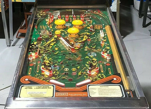 Buy Quicksilver Pinball Machine at Orange County Pinballs
