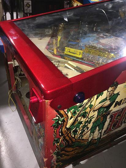 pinball machine powdercoating Hook   Orange County Pinballs