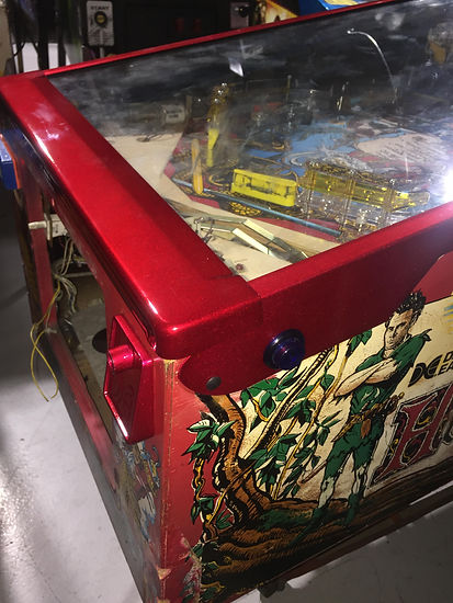 pinball machine powdercoating Hook | Orange County Pinballs