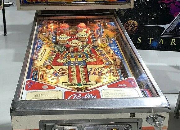 Buy Evel Knievel 1977 Pinball Machine by Bally Online at Orange County Pinballs