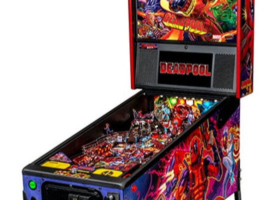 Buy Deadpool Pro Edition Pinball Machine by Stern Online at $5799 | Orange County Pinballs